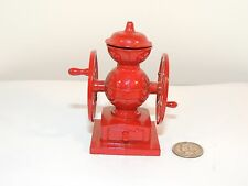 Die Cast Miniature Coffee Mill Pencil Sharpener with Movable handles (8774)