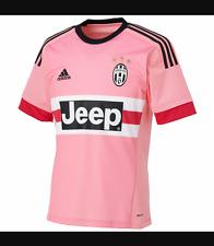 JUVENTUS Pink Away Shirt 2015/16 Jersey Mens Large