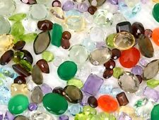 100+ CT MIX LOT LOOSE FACETED NATURAL GEMSTONES MIXED GEMS WHOLESALE LOOSE STONE