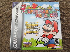 NEW Super Mario Advance Nintendo Game Boy Advance GBA Factory Sealed!