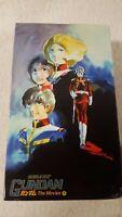 Gundam Mobil Suit The Movies Trilogy Box  VHS Rare Anime Japanese 1998 Subtitles