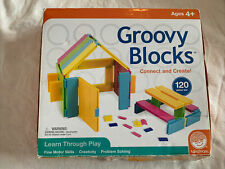 Groovy Blocks Deluxe Connect and Create 120 Piece Set Creative Play Learning Nib