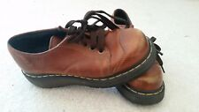 Dr Martens 8651 Five Eyelet Leather Shoes Made England AirWair US Womens 6 UK 4
