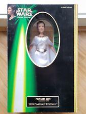 Star Wars Princess Leia Ceremonial Gown 1999 Portrait Edition Hasbro 61772 t1561