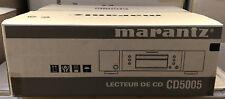 MARANTZ CD5005 Lettore CD HOME-CD-R, CD-RW, MP3, WMA, AAC, Apple USB, Argento NUOVO