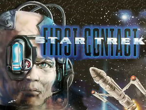 """First Contact 1996 Loose Figures & Accs. Star Trek Next Generation Movie 6"""" & 9"""""""