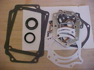 COMPLETE Kohler K341 16hp gasket set w/crank seals 16hp kohler engine 45-755-04s