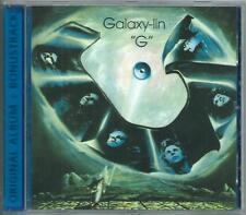 "GALAXY-LIN ""G"" + Bonus Tracks DUTCH PROG CD robbie van leeuwen shocking blue"