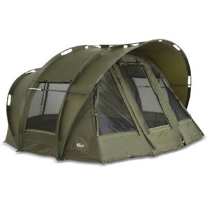 "Lucx® Angelzelt 1, 2, 3 Mann Karpfenzelt  ""Leopard"" Bivvy Dome Carp Fishing Tent"