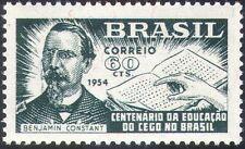 Brasil 1954 Braille Libro/Mano/Ciego/médico/salud/bienestar/Educación 1 V (n28012)