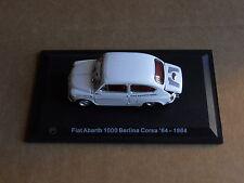 Leo Models CAR DIE CAST 1:43 NEW - FIAT ABARTH 1000 BERLINA CORSA 1964 [MV-7 ]