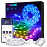 Govee Smart WiFi LED Strip Lights Works with Alexa, Google Home [Brighter 5050