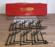 More details for vintage triang hornby r416 u catenary set boxed plus extra masts oo gauge