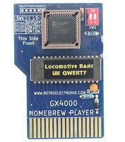 Locomotive Basic UK + B Rubber Cartridge for Amstrad CPC+ CPC 464 6128 + plus