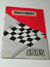 Originaler Matchbox Katalog von 1985 französische Ausgabe