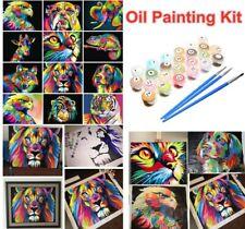 DIY Oil Paints Set By Number Kit Digital Oil Painting Acrylic Paint Art Home Hot