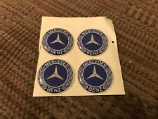 MERCEDES-B​ENZ S SL G E C M CLASS SLK CLK WHEEL RIM CENTER CAP DECALS STICKERS