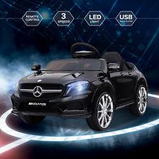 Kinder Elektro Kinderauto Mercedes 2 x 35W 12V Kinderfahrzeug in Schwarz