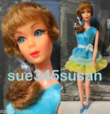 Vintage Barbie Doll Talking Barbie Head on TNT Japan Body in #1456 Dreamy Blues