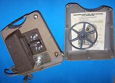 Vintage Keystone Model K-75 8mm Color Film Projector with Vintage Case