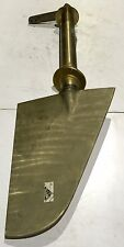 Marine Rudder With Shaft , Bronze , Shaft OD:85mm. Overall L: 1448mm.