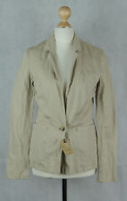ALL SAINTS - NEW Women's Beige Metallic Piccadilly Jacket - SIZE 8