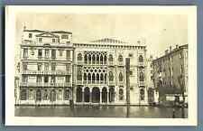 Italia, Venezia, Ca' d'Oro Vintage silver print. Italy. Venice Tirag