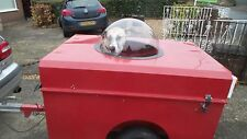 PET DOG VEIWING DOMES CLEAR PERSPEX ACRYLIC 300mm Diameter with flange