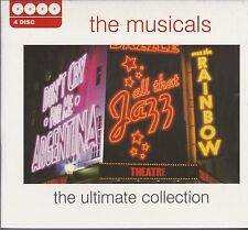 THE MUSICALS - THE ULTIMATE COLLECTION on 4 CD'S -  NEW -