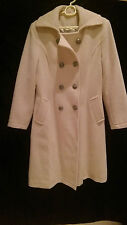 Barely Used Ivory Color High Quality Overcoat UK Size 10