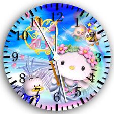 Hello Kitty Frameless Borderless Wall Clock Nice For Gifts or Decor Z59