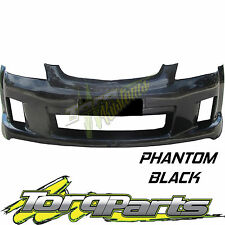 REPLACEMENT FRONT BAR COVER PHANTOM BLACK SUIT VE COMMODORE SS SV6 S1 BUMPER