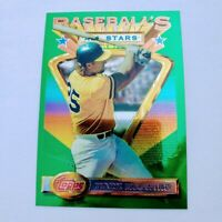 Mark McGwire 1993 Topps Finest All Star Stars #92 Oakland A's
