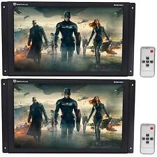 "(2) Rockville RVM1401 14.1"" Car LCD Raw Panel Video Screen Monitors HDMI+VGA"