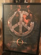 A Perfect Circle Signed Framed 18x24 poster By Billy Howerdel / Maynard James