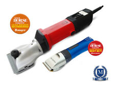 Heavy Duty Horse Clippers Trimmers Clipping Combo by Masterclip Ranger Showmate