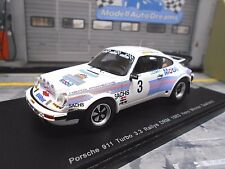 PORSCHE 911 Turbo 3.3 Rallye DRM Saarland Winner Hero 1/300 RAR Edit Spark 1:43