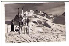Postcard: Monte Rosa vom Gornergrat oh Zermatt, Switzerland