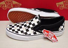 Vans Classic Slip On 50th Black Gold Checker Men's Size: 12