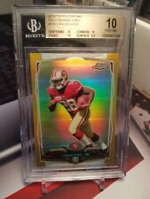 2014 Topps Chrome Gold Refractors Carlos Hyde RC 16/50 BGS Pristine 10