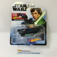 Jedi Luke Skywalker w/ Lightsaber * 2019 Hot Wheels Character Cars Star Wars HD8
