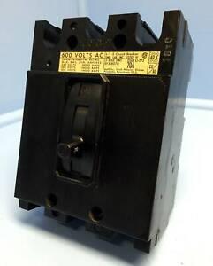 I-T-E Gould EF3B070 70A Circuit Breaker 480/600V 3P EF3-B070 Siemens ITE 70 Amp