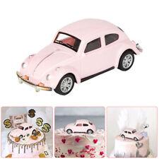 Pink Car Cake Topper Wedding Fondant Sugarcraft Dessert Baking Decoration Toy