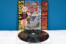 Guns N'Roses APPETITE FOR DESTRUCTION LP EX-/EX- Vinile (1987 Vinyl Press) RaRo