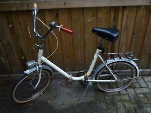antikes altes Fahrrad Vintage präzentra klapprad Jugendrad bicycle  folding bicy