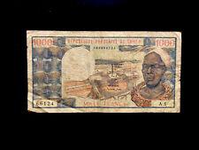 Volksrepublik Kongo (P003) 1.000 Francs 1983 F