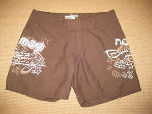 Ladies Nomad Brown Board Shorts Size 10
