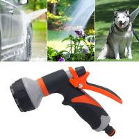8Patterns Water Nozzle Head Hose Sprayer Garden Spray Auto Car Washing home