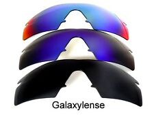 GALAXY Lenti di ricambio Oakley M Frame Strike Nero & BLU & VERDE polarizzati 3