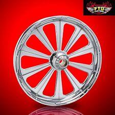 "Harley Davidson Street Glide 21"" inch Custom Chrome Front Wheel ""Redemption"""